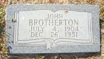 BROTHERTON, JOHN - Mississippi County, Arkansas | JOHN BROTHERTON - Arkansas Gravestone Photos