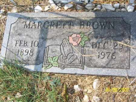 BROWN, MARGRETT - Mississippi County, Arkansas | MARGRETT BROWN - Arkansas Gravestone Photos
