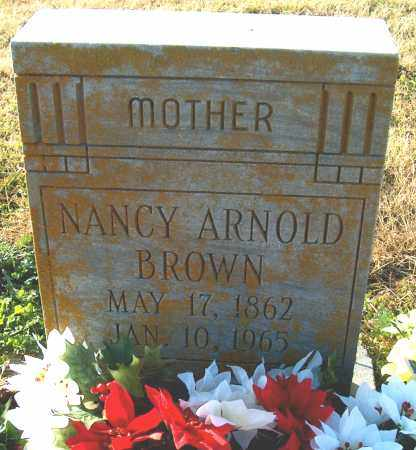 BROWN, NANCY ARNOLD - Mississippi County, Arkansas | NANCY ARNOLD BROWN - Arkansas Gravestone Photos