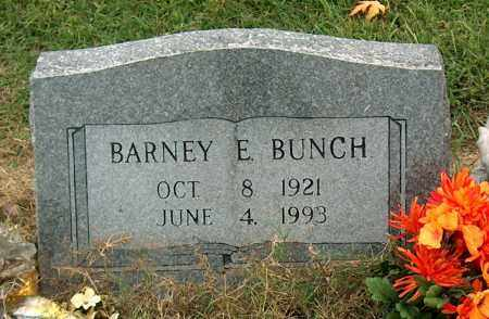 BUNCH, BARNEY E. - Mississippi County, Arkansas | BARNEY E. BUNCH - Arkansas Gravestone Photos