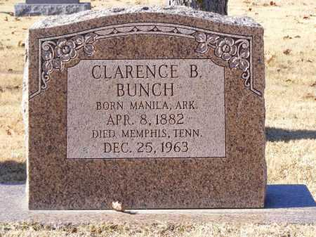 BUNCH, CLARENCE - Mississippi County, Arkansas | CLARENCE BUNCH - Arkansas Gravestone Photos