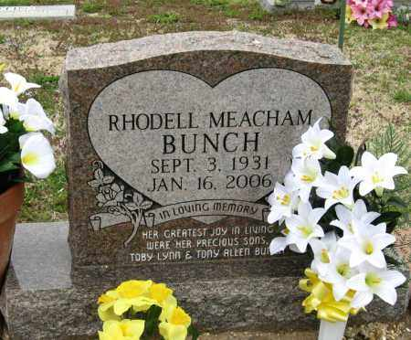 BUNCH, RHODELL - Mississippi County, Arkansas | RHODELL BUNCH - Arkansas Gravestone Photos