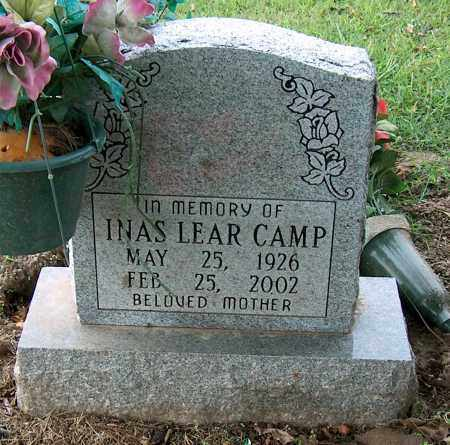 CAMP, INAS LEAR - Mississippi County, Arkansas | INAS LEAR CAMP - Arkansas Gravestone Photos