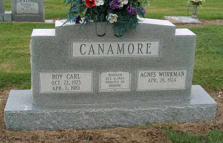 CANAMORE, ROY CARL - Mississippi County, Arkansas | ROY CARL CANAMORE - Arkansas Gravestone Photos