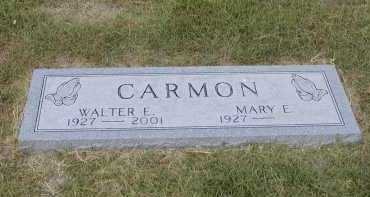 CARMON, WALTER ELIJAH - Mississippi County, Arkansas | WALTER ELIJAH CARMON - Arkansas Gravestone Photos