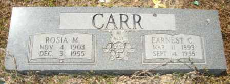 CARR, EARNEST C - Mississippi County, Arkansas | EARNEST C CARR - Arkansas Gravestone Photos