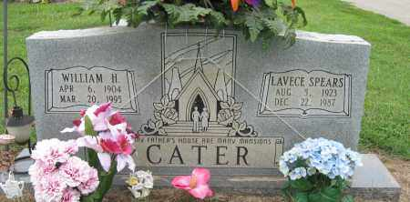 SPEARS CATER, LAVECE - Mississippi County, Arkansas | LAVECE SPEARS CATER - Arkansas Gravestone Photos