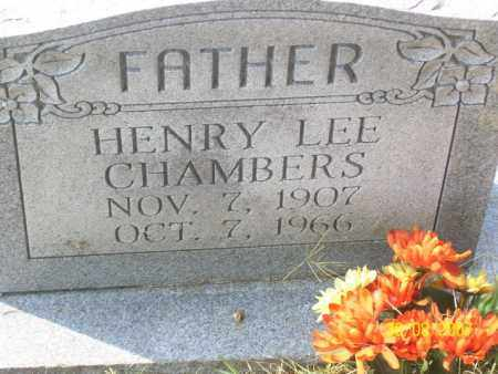 CHAMBERS, HENRY LEE - Mississippi County, Arkansas | HENRY LEE CHAMBERS - Arkansas Gravestone Photos