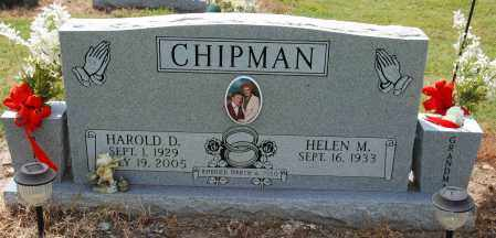 CHIPMAN, HAROLD D - Mississippi County, Arkansas | HAROLD D CHIPMAN - Arkansas Gravestone Photos