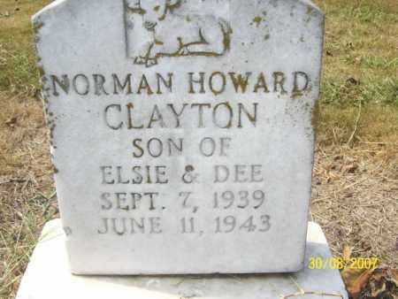 CLAYTON, NORMAN HOWARD - Mississippi County, Arkansas | NORMAN HOWARD CLAYTON - Arkansas Gravestone Photos
