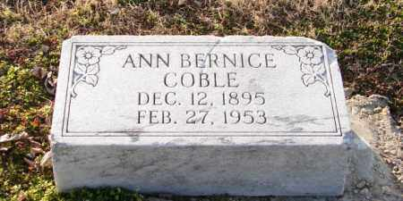 COBLE, ANN BERNICE - Mississippi County, Arkansas | ANN BERNICE COBLE - Arkansas Gravestone Photos