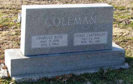 COLEMAN, DORIS - Mississippi County, Arkansas | DORIS COLEMAN - Arkansas Gravestone Photos