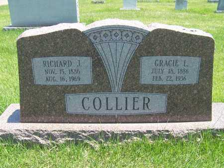 FRAZIER COLLIER, GRACIE - Mississippi County, Arkansas | GRACIE FRAZIER COLLIER - Arkansas Gravestone Photos