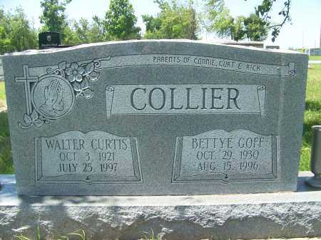 COLLIER, WALTER - Mississippi County, Arkansas | WALTER COLLIER - Arkansas Gravestone Photos