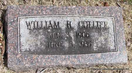 COLLIER, WILLIAM H - Mississippi County, Arkansas | WILLIAM H COLLIER - Arkansas Gravestone Photos