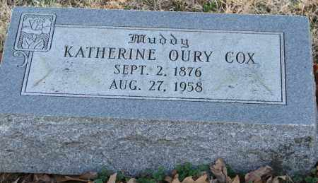 COX, KATHERINE - Mississippi County, Arkansas | KATHERINE COX - Arkansas Gravestone Photos