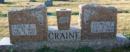 CRAINE, LILLY J - Mississippi County, Arkansas | LILLY J CRAINE - Arkansas Gravestone Photos