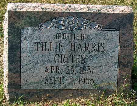 HARRIS CRITES, TILLIE - Mississippi County, Arkansas | TILLIE HARRIS CRITES - Arkansas Gravestone Photos