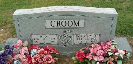 CROOM, R.A. - Mississippi County, Arkansas | R.A. CROOM - Arkansas Gravestone Photos