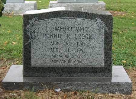 CROOM, RONNIE P. - Mississippi County, Arkansas | RONNIE P. CROOM - Arkansas Gravestone Photos
