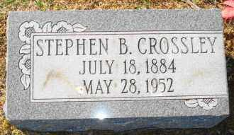 CROSSLEY, STEPHEN B - Mississippi County, Arkansas | STEPHEN B CROSSLEY - Arkansas Gravestone Photos