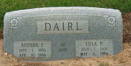 DAIRL, BUFORD F. - Mississippi County, Arkansas | BUFORD F. DAIRL - Arkansas Gravestone Photos