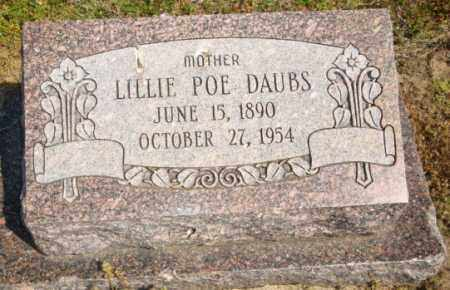 DAUBS, LILLIE - Mississippi County, Arkansas | LILLIE DAUBS - Arkansas Gravestone Photos
