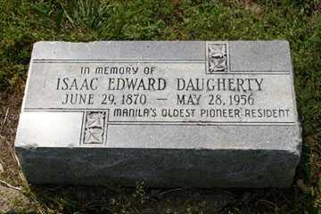 DAUGHERTY, ISAAC - Mississippi County, Arkansas | ISAAC DAUGHERTY - Arkansas Gravestone Photos