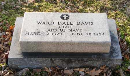 DAVIS (VETERAN), WARD DALE - Mississippi County, Arkansas | WARD DALE DAVIS (VETERAN) - Arkansas Gravestone Photos