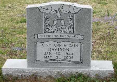 DAVISON, PATSY ANN - Mississippi County, Arkansas | PATSY ANN DAVISON - Arkansas Gravestone Photos