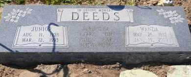 DEEDS, WANDA - Mississippi County, Arkansas | WANDA DEEDS - Arkansas Gravestone Photos