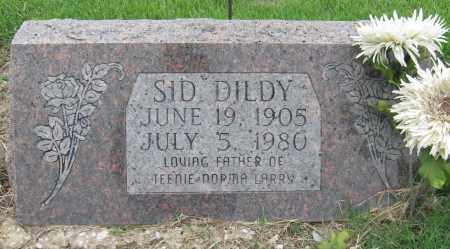 DILDY, SID - Mississippi County, Arkansas | SID DILDY - Arkansas Gravestone Photos