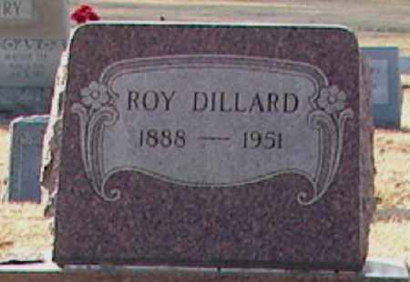 DILLARD, ROY - Mississippi County, Arkansas | ROY DILLARD - Arkansas Gravestone Photos