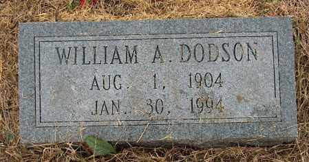DODSON, WILLIAM A. - Mississippi County, Arkansas | WILLIAM A. DODSON - Arkansas Gravestone Photos