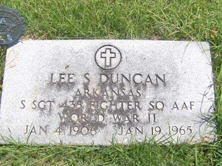 DUNCAN (VETERAN WWII), LEE S. - Mississippi County, Arkansas | LEE S. DUNCAN (VETERAN WWII) - Arkansas Gravestone Photos