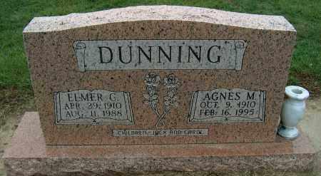 DUNNING, ELMER C - Mississippi County, Arkansas | ELMER C DUNNING - Arkansas Gravestone Photos