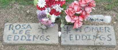 EDDINGS, HOMER - Mississippi County, Arkansas | HOMER EDDINGS - Arkansas Gravestone Photos