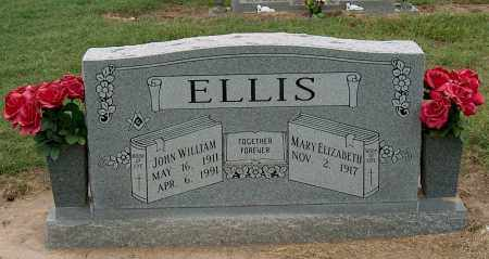 ELLIS, JOHN WILLIAM - Mississippi County, Arkansas | JOHN WILLIAM ELLIS - Arkansas Gravestone Photos