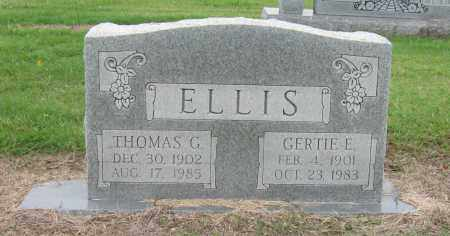 ELLIS, THOMAS G. - Mississippi County, Arkansas | THOMAS G. ELLIS - Arkansas Gravestone Photos