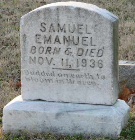EMANUEL, SAMUEL - Mississippi County, Arkansas | SAMUEL EMANUEL - Arkansas Gravestone Photos