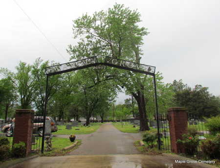 *MAPLE GROVE CEMETERY ENTRANCE,  - Mississippi County, Arkansas |  *MAPLE GROVE CEMETERY ENTRANCE - Arkansas Gravestone Photos