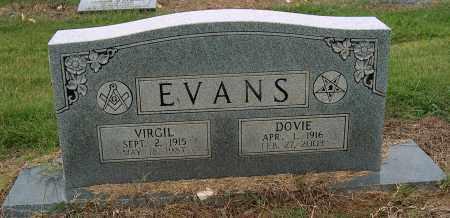 EVANS, VIRGIL - Mississippi County, Arkansas | VIRGIL EVANS - Arkansas Gravestone Photos
