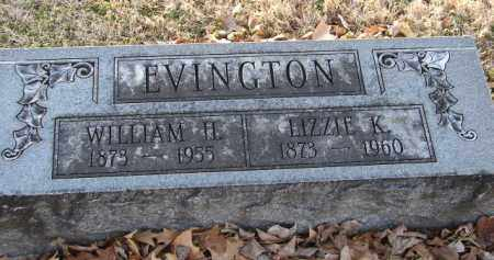EVINGTON, WILLIAM H. - Mississippi County, Arkansas | WILLIAM H. EVINGTON - Arkansas Gravestone Photos