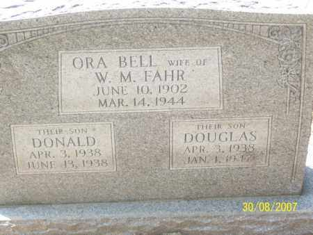CRICKO FAHR, ORA BELL - Mississippi County, Arkansas | ORA BELL CRICKO FAHR - Arkansas Gravestone Photos