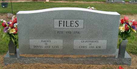 FILES, JINK LOUISE - Mississippi County, Arkansas | JINK LOUISE FILES - Arkansas Gravestone Photos