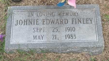 FINLEY, JOHNIE EDWARD - Mississippi County, Arkansas | JOHNIE EDWARD FINLEY - Arkansas Gravestone Photos