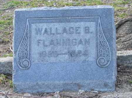 FLANNIGAN, WALLACE B. - Mississippi County, Arkansas | WALLACE B. FLANNIGAN - Arkansas Gravestone Photos