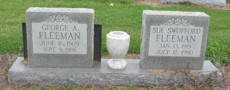 SWOFFORD FLEEMAN, SUE - Mississippi County, Arkansas | SUE SWOFFORD FLEEMAN - Arkansas Gravestone Photos