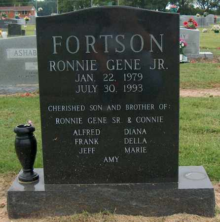 FORTSON, RONNIE GENE JR - Mississippi County, Arkansas | RONNIE GENE JR FORTSON - Arkansas Gravestone Photos
