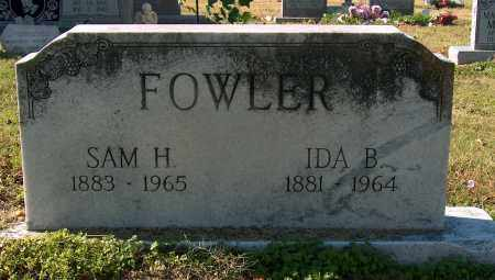 FOWLER, IDA B - Mississippi County, Arkansas | IDA B FOWLER - Arkansas Gravestone Photos
